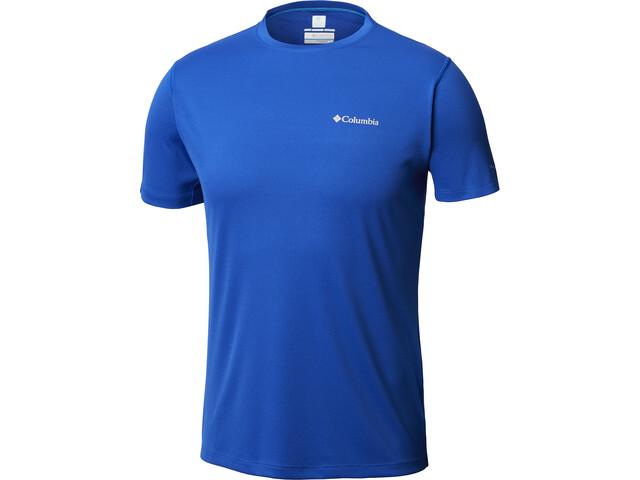 Columbia Zero Rules T-shirt à manches courtes Homme, azul